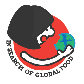 In search of global food logo